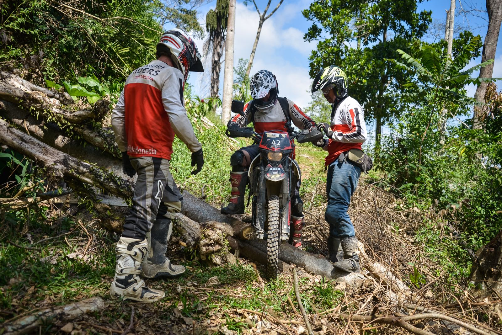 Flores Dual Sport Adventure Motorcycle Tours