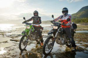 Dirt-Bike Riders Beach Shredding