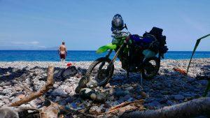 Dirt Bike Trip - Flores Island Beach