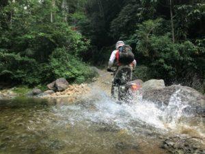 Dual-Sport River Crossing
