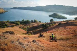 Riding the hills of Flores