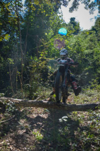 Enduro Jungle Attack in the middle of Flores island