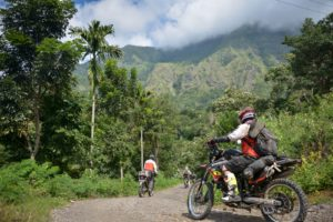 Motorcycle Exploration on a Flores Jungle Trip