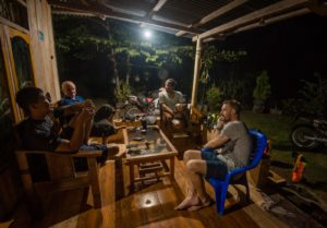 We have a few nights at different homestay in Flores