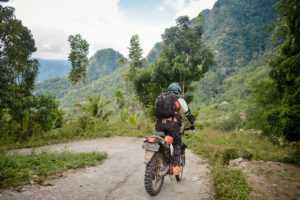 Riding The Flores Mountains