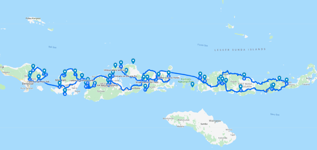 Expedition Map Indonesia