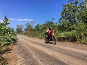 Visit Tambora Village and Volcano on an Enduro Dirt Bike tour