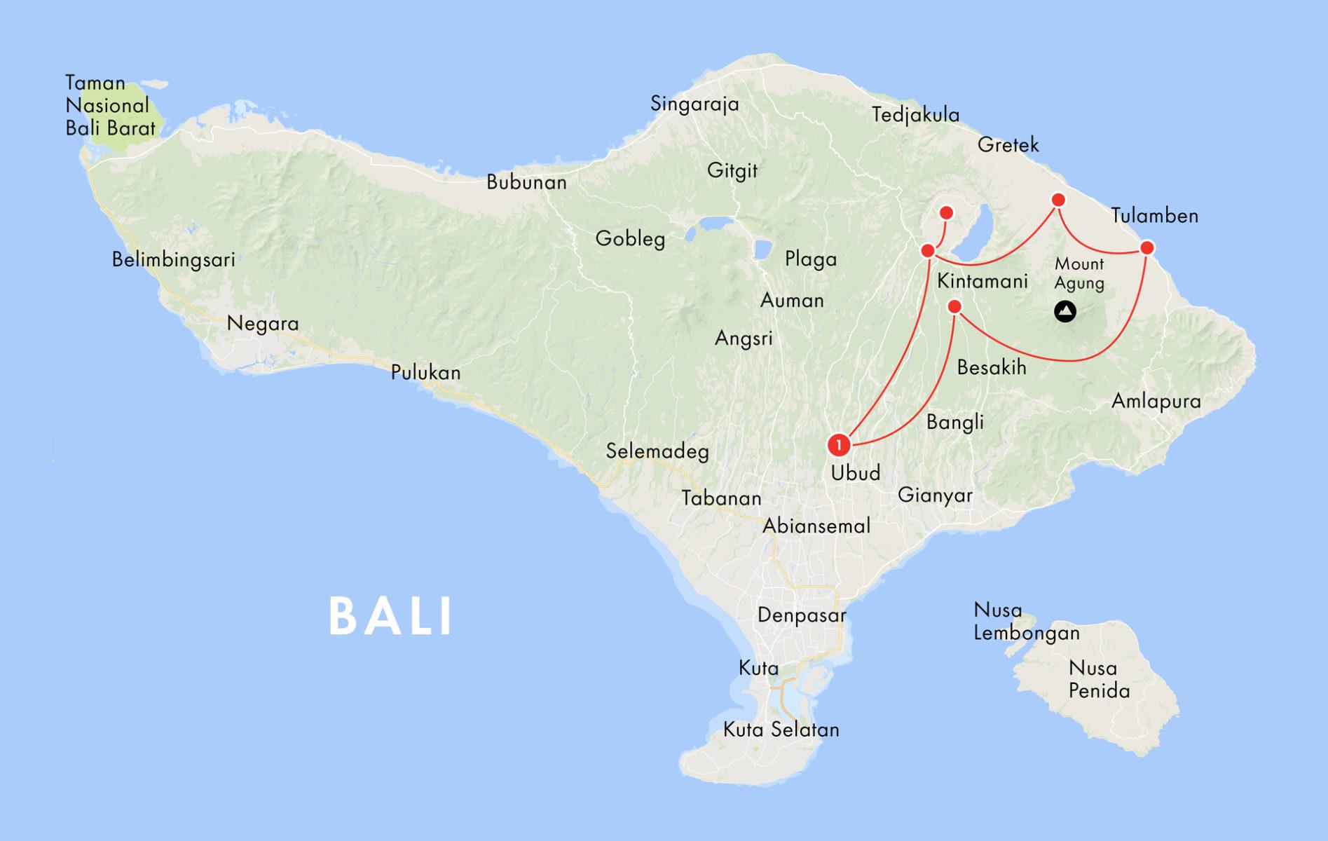 Dirtbike Tours Bali, Ubud, Batur, Kintamani, Tulamben