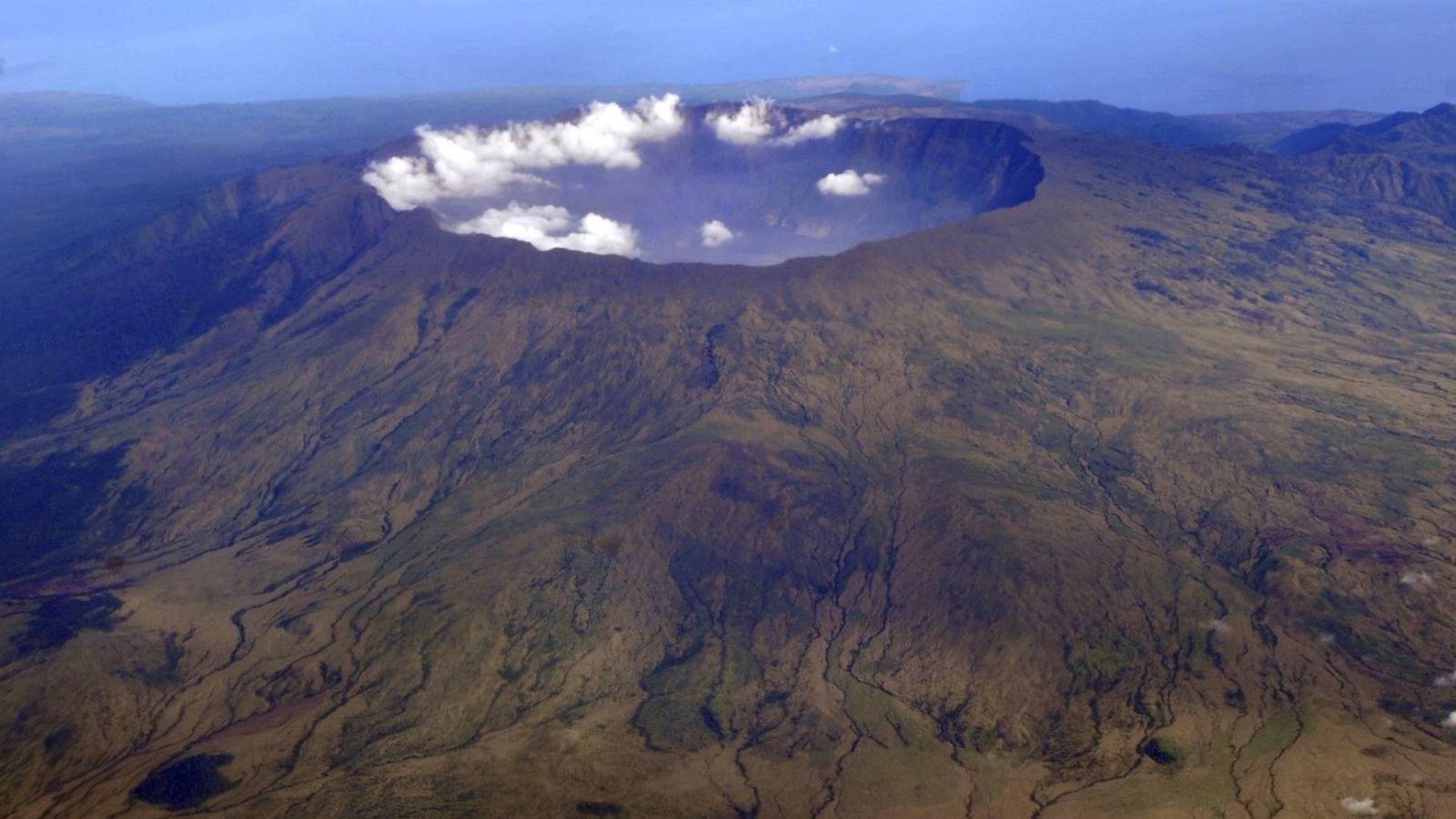 Mount Tambora Volcano