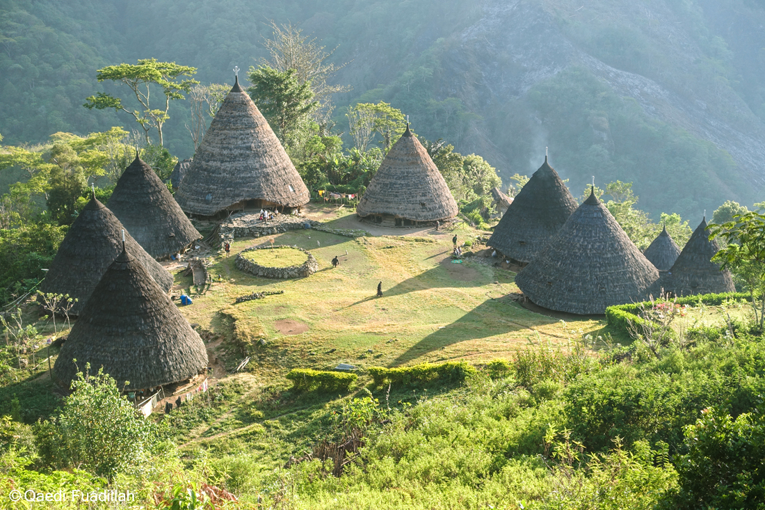 Wae Rebo Village in Flores Island