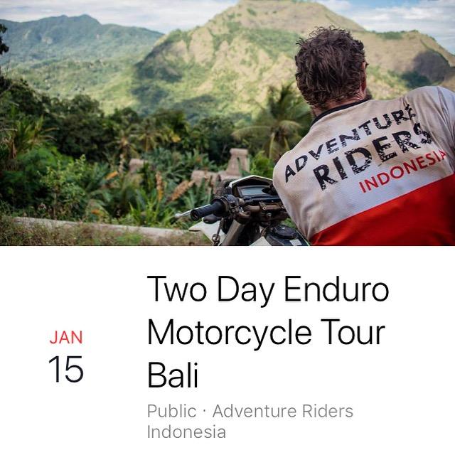 Bali Enduro Motorcycle Trip