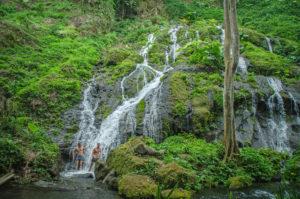 Bali Waterfall on our Enduro Dirt Bike Tour
