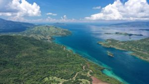 Aerial footage of our dirt bike trails leading out from Labuan Bajo towards Komodo National Park