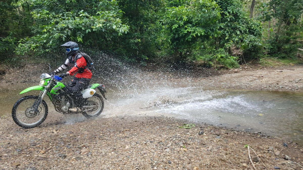 Dirt Bike riding in the jungles of Sumbawa