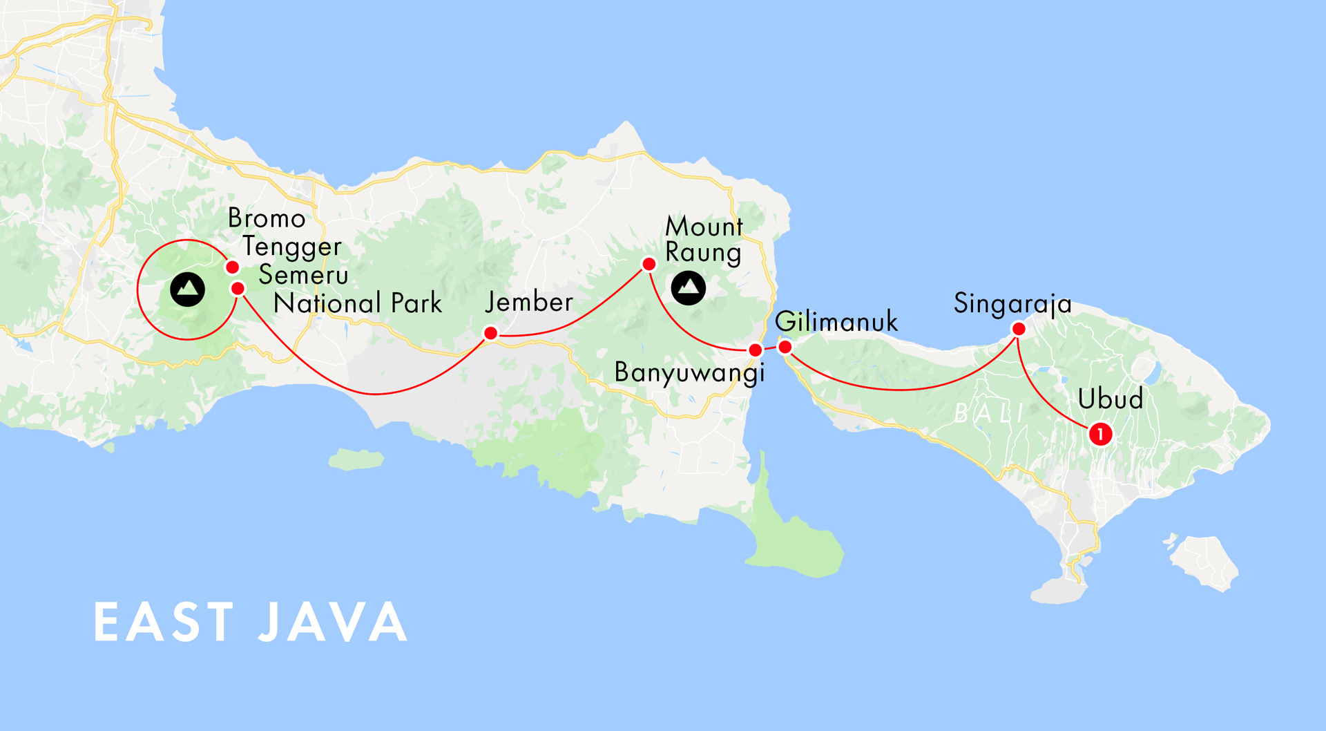 East java Map